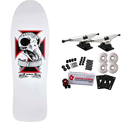 "Birdhouse Skateboard Complete Tony Hawk Skull 2 10.25"" : Sports & Outdoors"