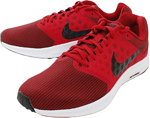 Nike Downshifter 7, Gym Rojo/Negro-Blanco, 11: Amazon.es: Zapatos ...
