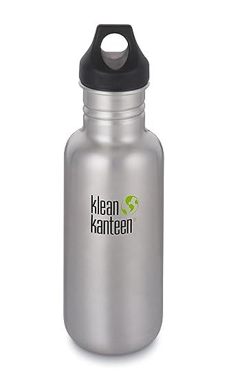 Amazon.com: Klean Kanteen 2018 - Botella de agua (acero ...