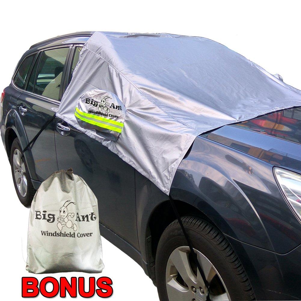 車用 凍結防止シート フロントガラスカバー 凍結防止 シート 積雪対策 冬 雪対策 対応可能 収納袋付 サイドミラーカバー Big Ant(ビッグアント)