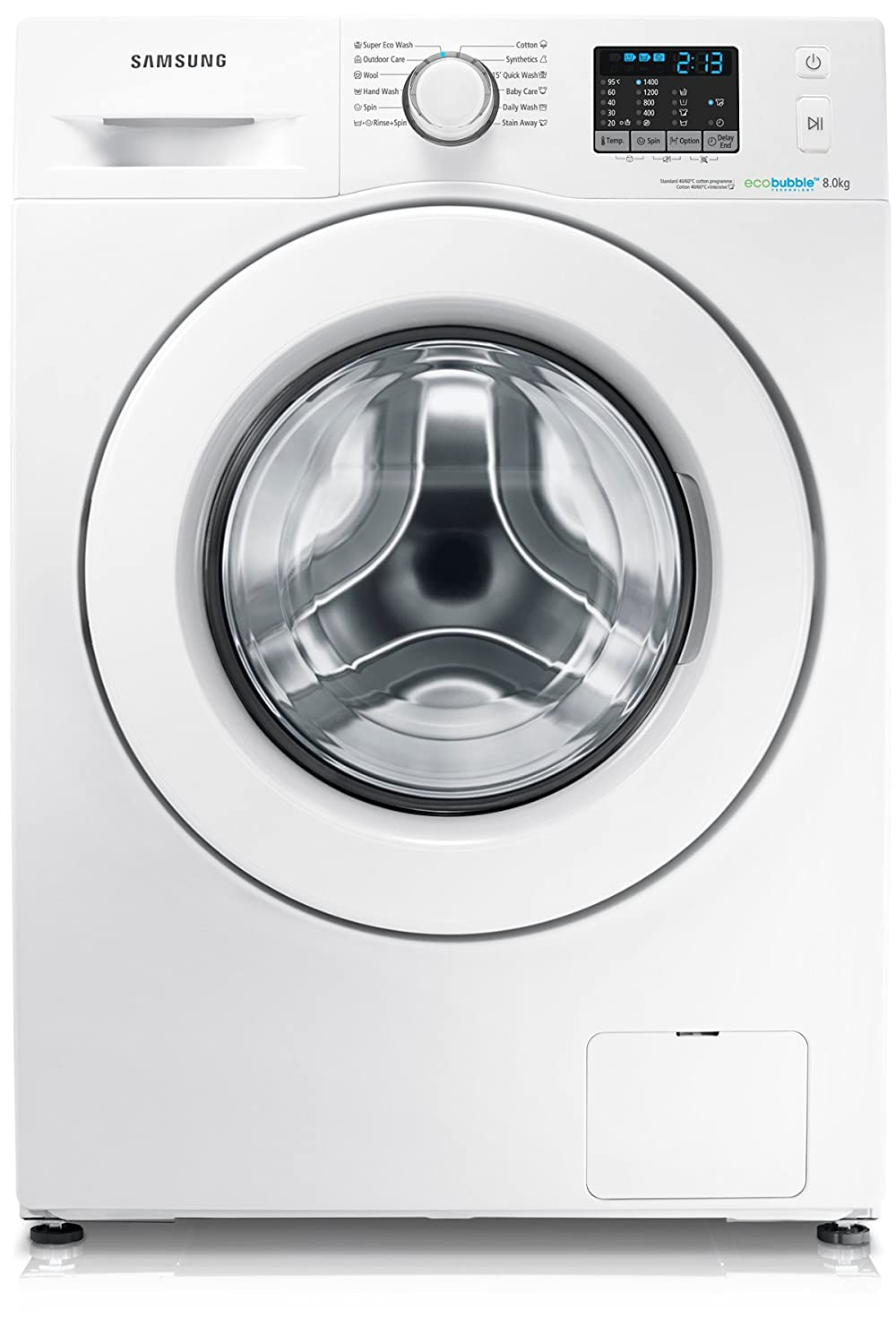 Samsung wf80f5e0w4w ecobubble 8kg 1400rpm freestanding washing samsung wf80f5e0w4w ecobubble 8kg 1400rpm freestanding washing machine white amazon large appliances biocorpaavc Images