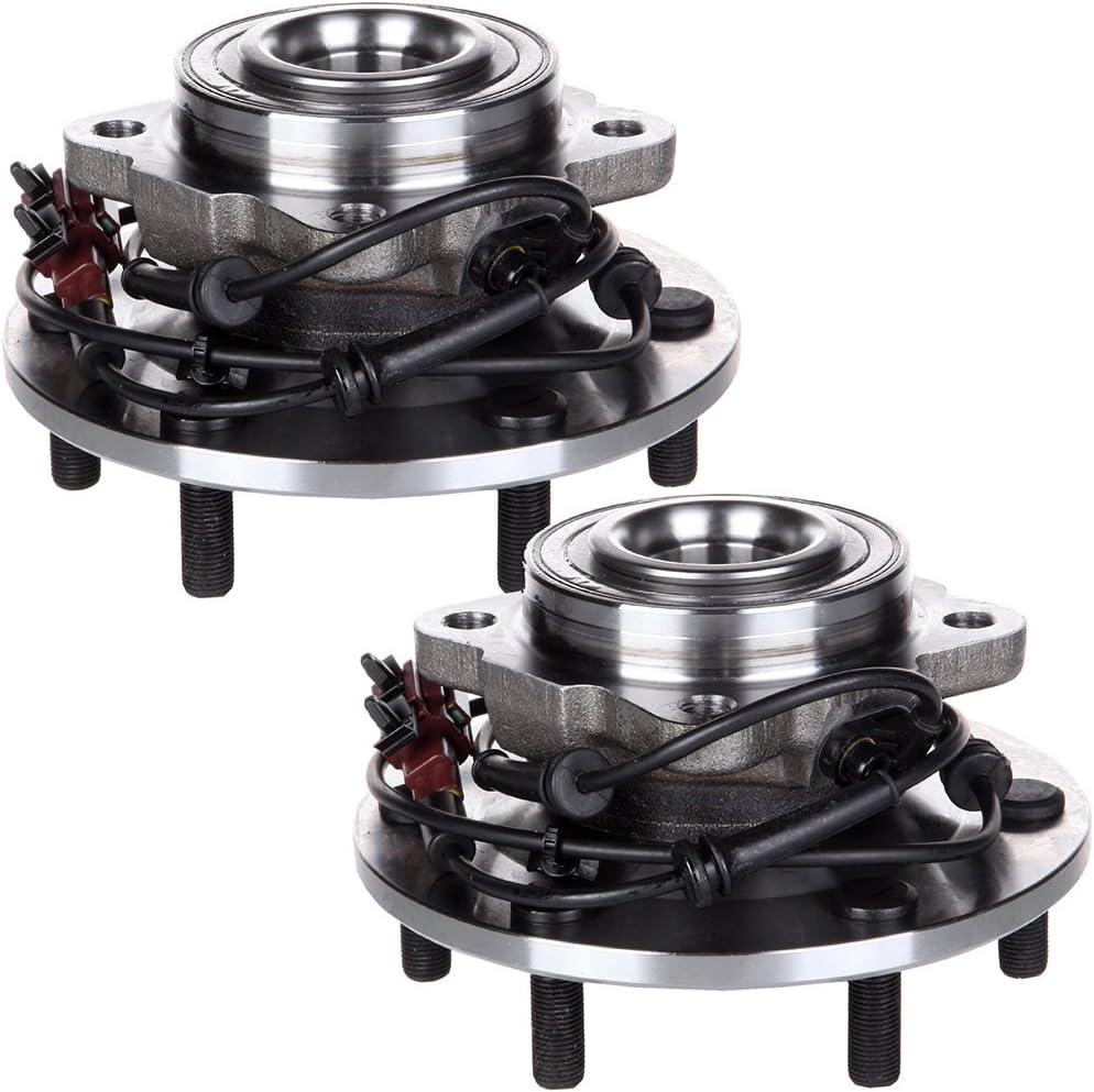 SCITOO Compatible with Rear Wheel Bearing Hub 541004 Hub Bearing Hub Assemblies 6 bolts ABS Sensor fits Infiniti Truck QX56 1980-2004 Nissan Datsun Truck Pathfinder Aemada 2004-2007 pack of 2