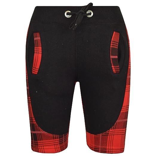 e3baf4359 Amazon.com: A2Z 4 Kids® Kids Girls Boys Chino Shorts Fleece Tartan Red  Panel Knee Length Half Pant 5-13Y: Clothing