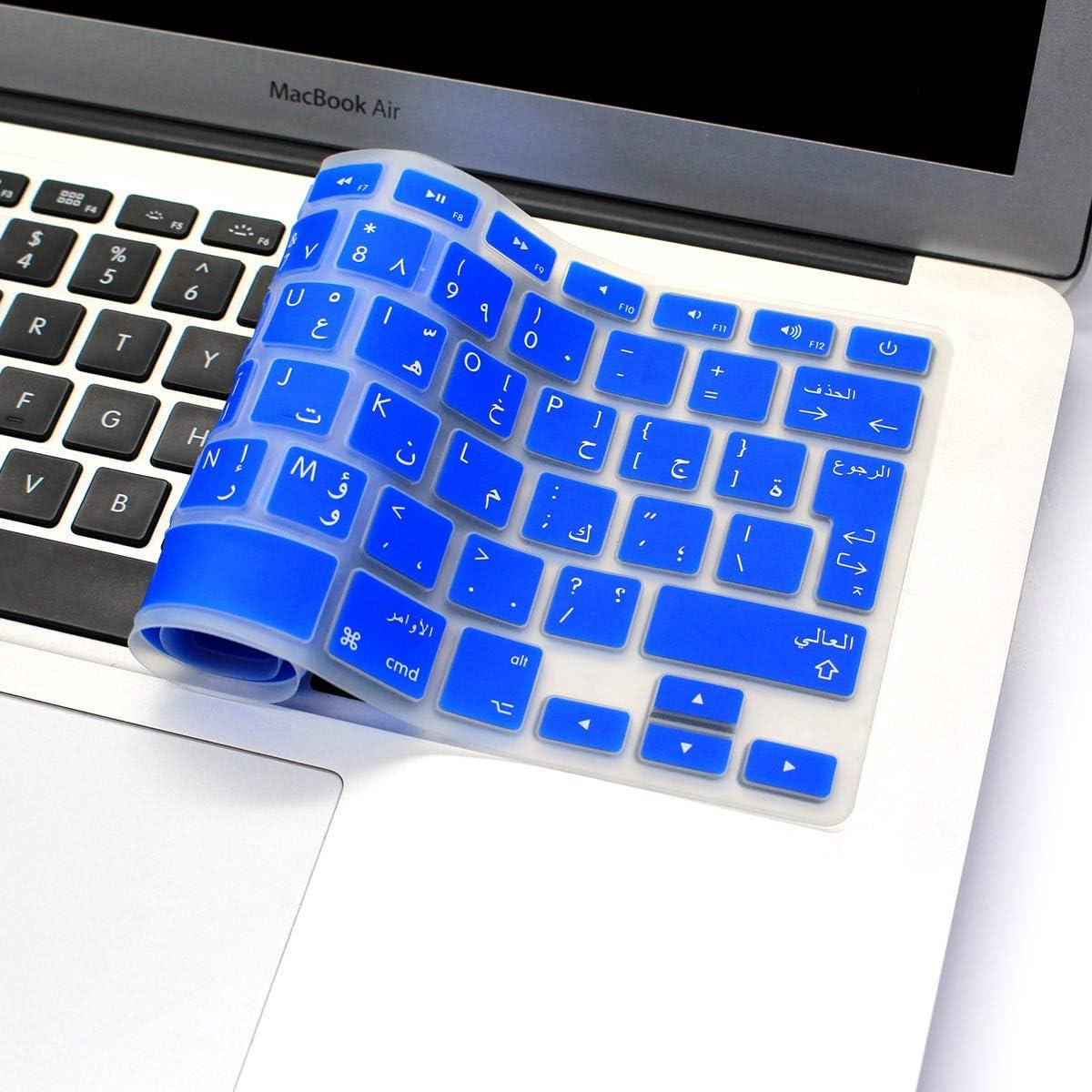 avec ou sans /écran Retina, 2015 ou Version Ancienne MMDW Coque en Silicone pour MacBook Pro 13 15 Old MacBook Air 13 Europe//ISO Clavier