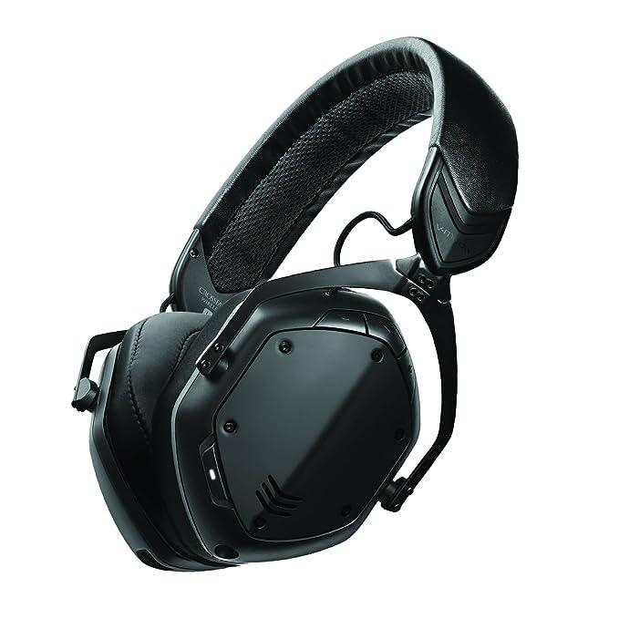 V-moda Crossfade 2 - Auriculares inalámbricos de Diadema con Qualcomm aptX (Oro Rosa) Matte Black: Amazon.es: Electrónica