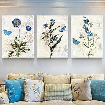 Fesselnd Wandbilder Mode Wohnzimmer Malerei Sofa Hintergrund Dreifachlackierung  Restaurant Gemälde Moderne Minimalistische Schlafzimmer Wandmalereien  Landschaft ...