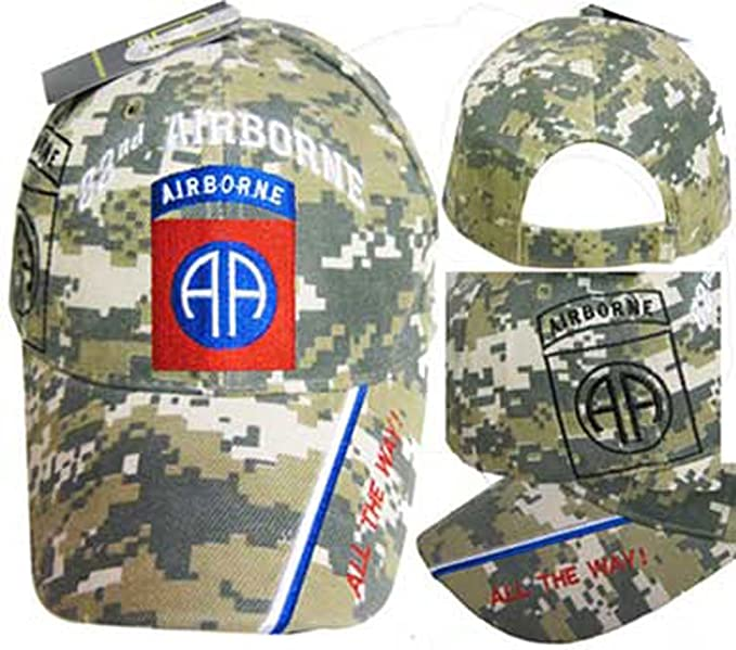 b3483a6f32681 Wildbill s U.S. Army 82nd Airborne ACU Camo Cap at Amazon Men s ...