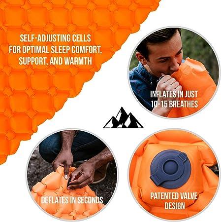 outdoor lab sleeping pad
