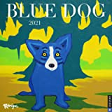 Blue Dog 2021 Wall Calendar