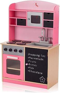 Grande in Legno Bambini Cucina Cottura Role Play Imitazione Giocattolo Gioco