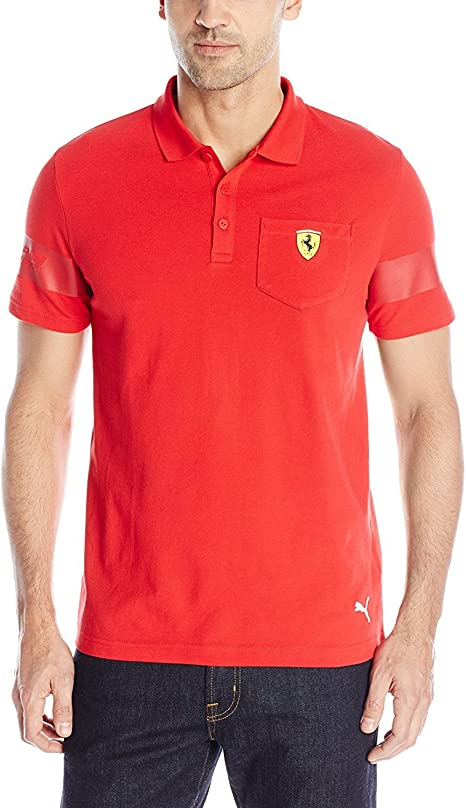 Amazon.com: PUMA Men's Scuderia Ferrari Polo 1: Clothing