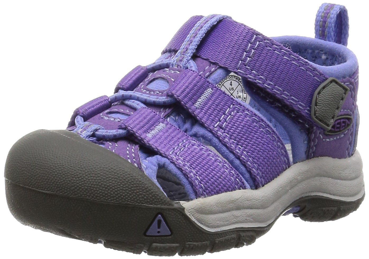 KEEN Toddler (1-4 Years) Newport H2 Purple Heart/Periwinkle Sandal - 8 Toddler US Toddler
