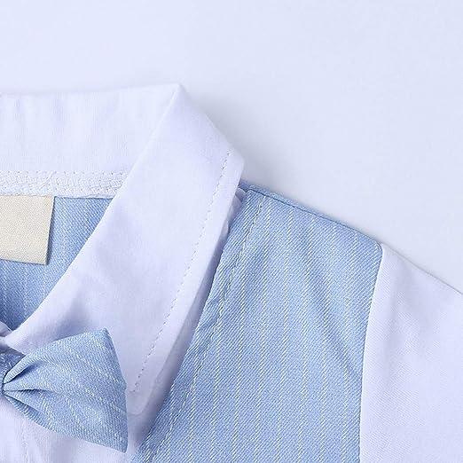 Moneycom❤ Camiseta de rayas a cuadros + pantalones cortos ...