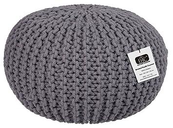 Amazon.com: EHC 100% algodón redondo hecho a mano tela doble ...