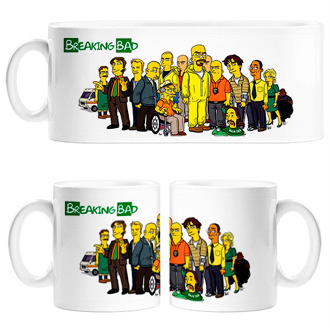 Taza Breaking Bad Personajes modo Simpsonshttps://amzn.to/2BAx0bB