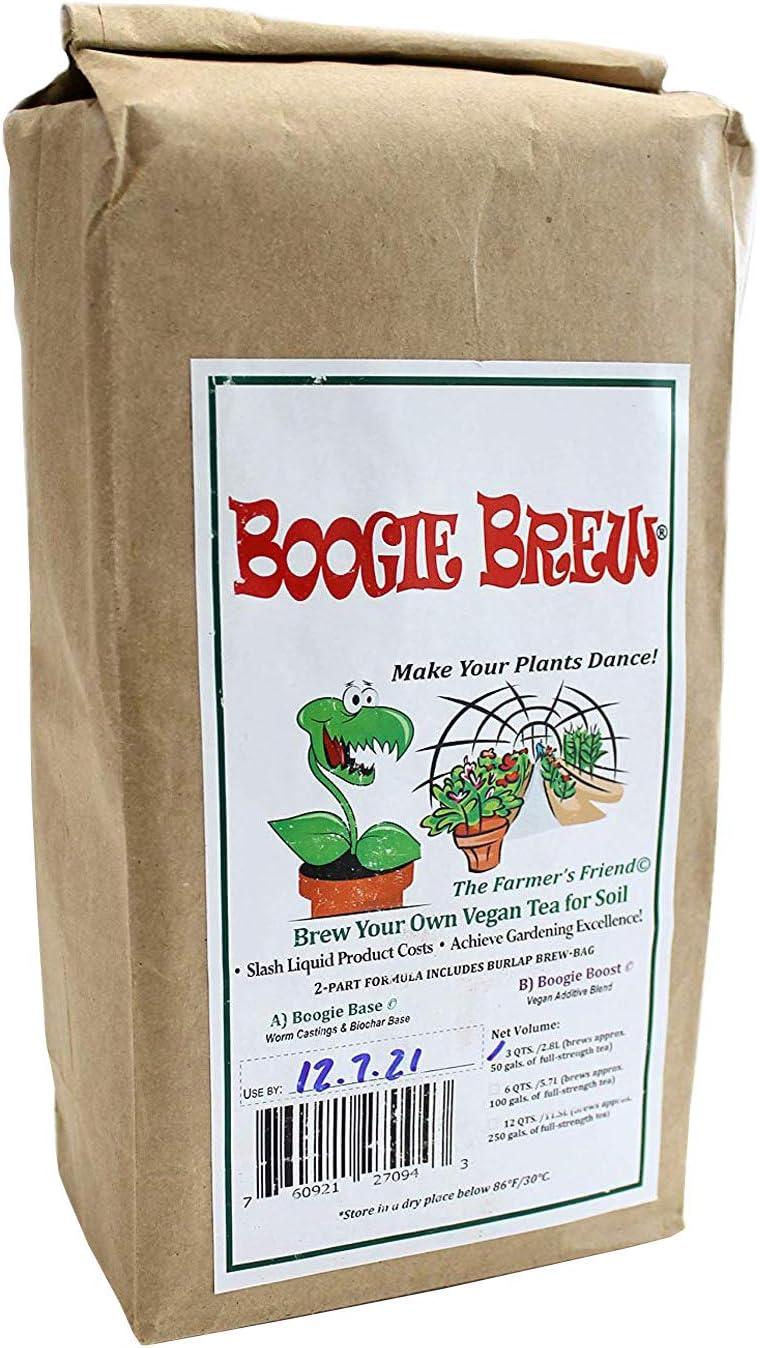 Boogie Brew Heavy Harvest 6 Pounds - Brews 100 Gallons Compost Tea
