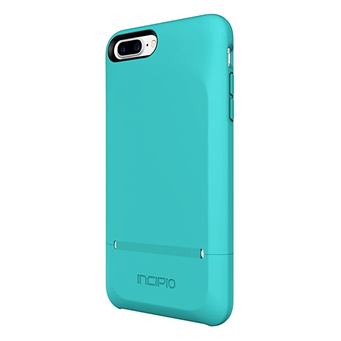 buy popular 3f04a 093f2 iPhone 7 Plus Case, Incipio [Credit Card] [Protective] Stashback Case for  iPhone 7 Plus-Turquoise