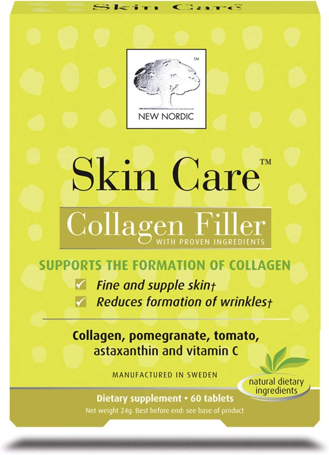 New Nordic Skin Care - Collagen Filler - 60 Tablets