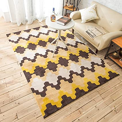114e837236ed5 Amazon.com: Area Rugs Nordic Style Study Sofa Carpet Living Room ...