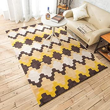 Amazon.de: Teppiche Wohnzimmer Nordischen Stil Studie Sofa Teppich ...