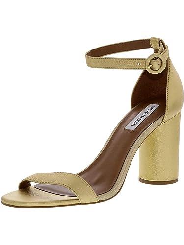 add5f6d3db3 Steve Madden Women s Shanna Leather Gold Pump - 10M
