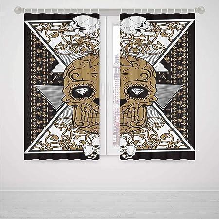 YOLIYANA - Cortina para puerta con diseño de tatuaje de guerrero ...