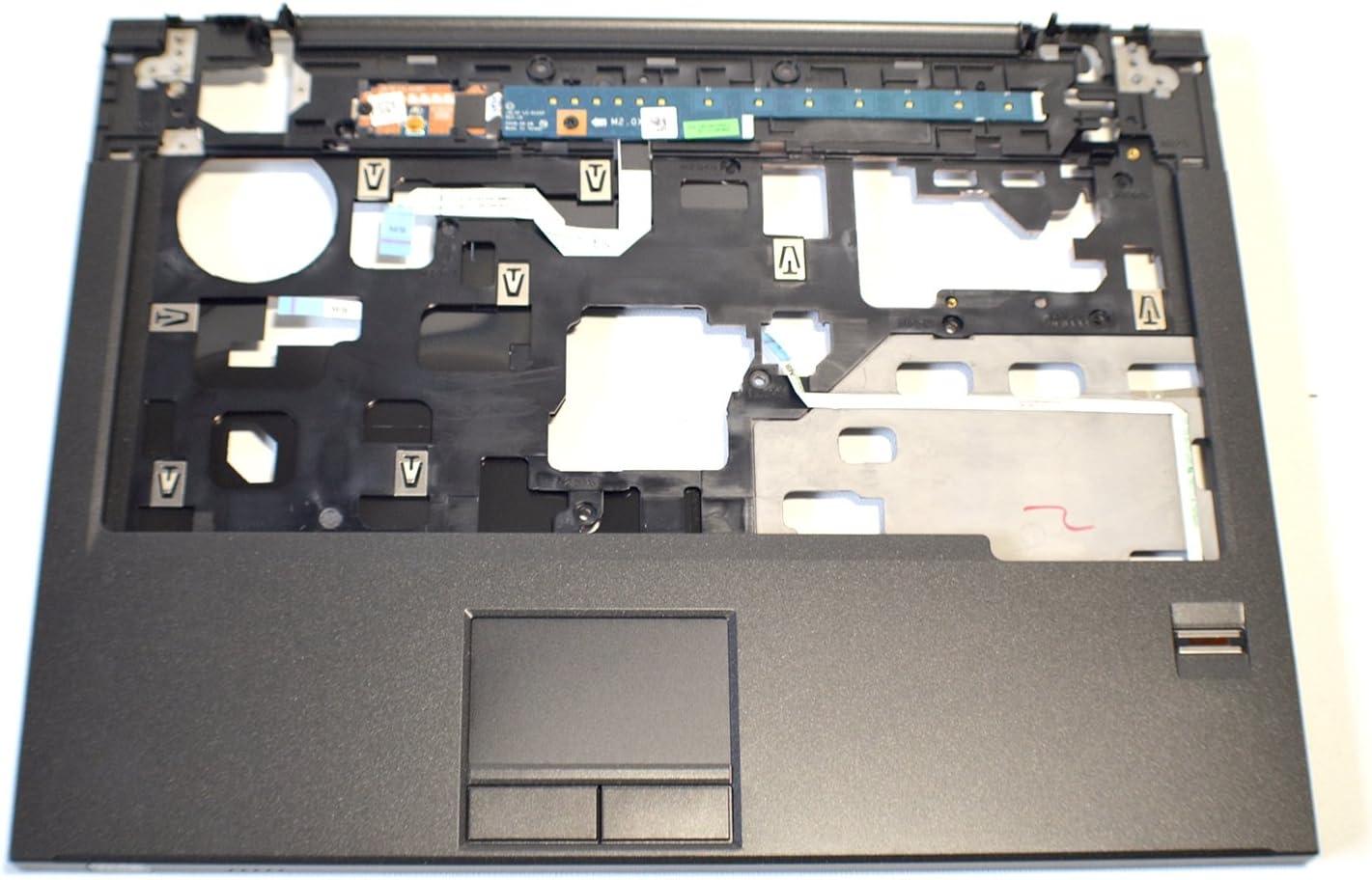 Dell New Vostro 1310 1320 Laptop Notebook Palmrest Touchpad Upper Keyboard Bezel Cover Mouse Button Fingerprint Biometric Reader LED Strip R845J