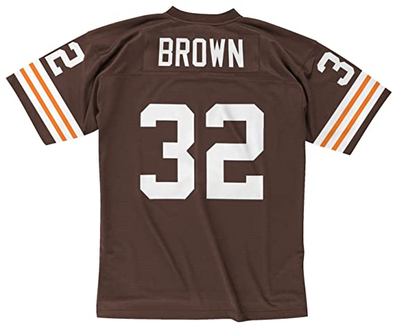 jim brown throwback jersey mitchell & ness