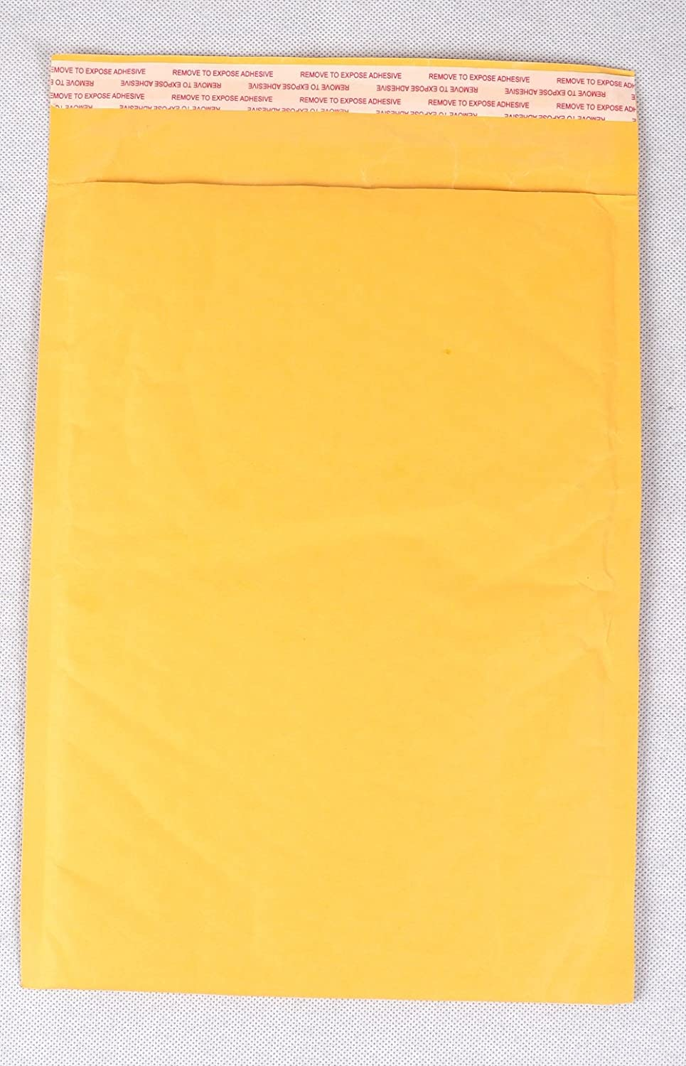 50 Padded Envelopes 6' x 9' (153mm x 229mm) Peel + Seal Gold Bubble Mailer Postal Bags Self Seal Bubble Envelope Prinktoner
