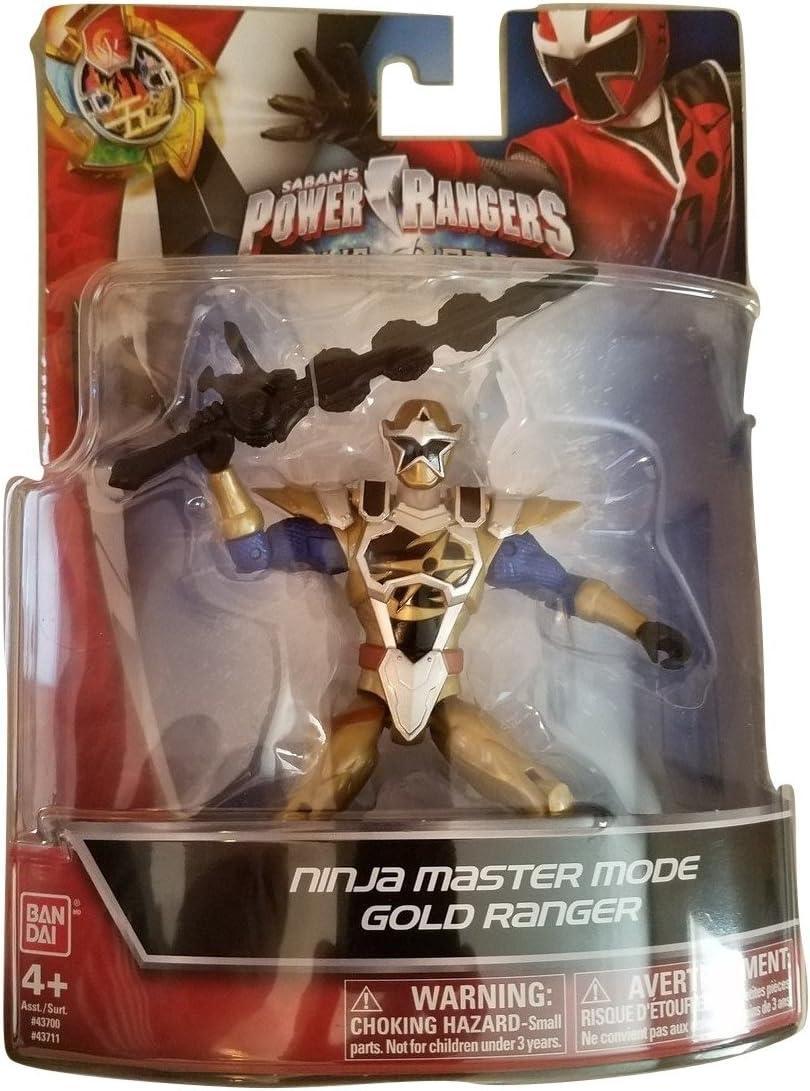 Power Rangers Ninja Steel 5-Inch Ninja Master Mode Gold Ranger