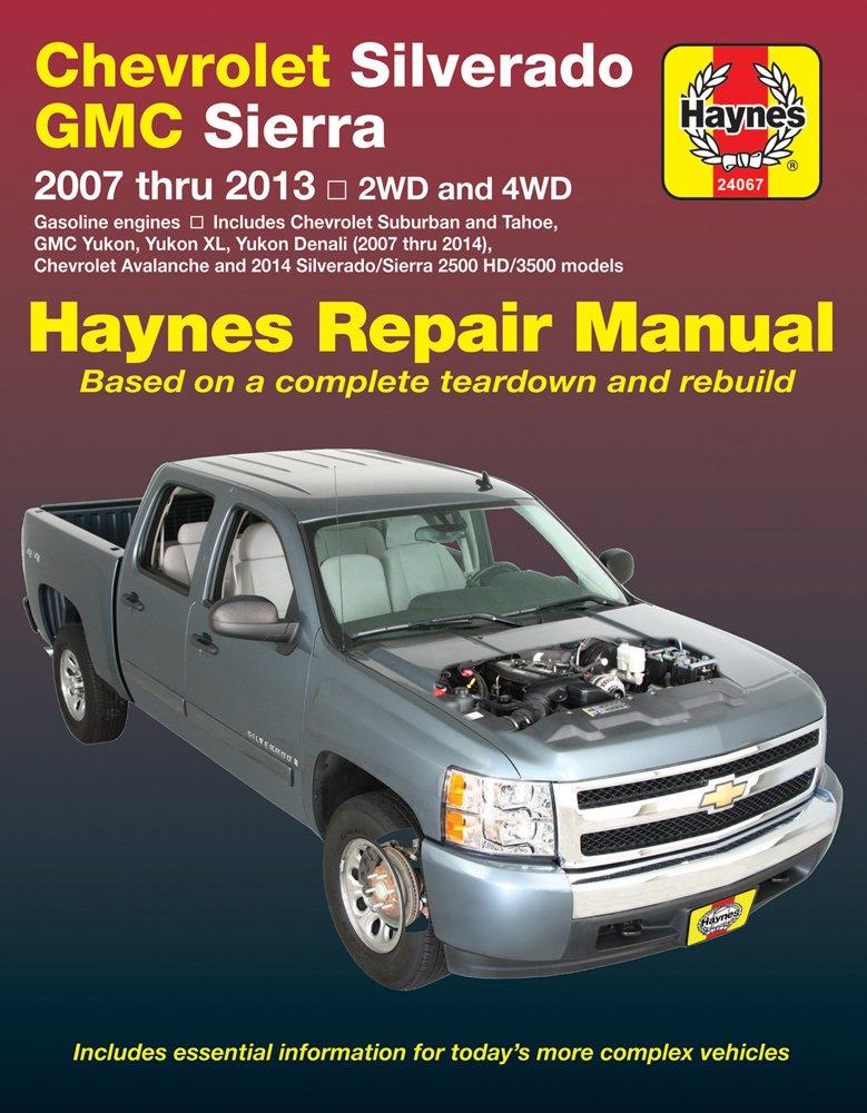 2007-2014 Haynes 24067 Chevy Silverado /& GMC Sierra Repair Manual