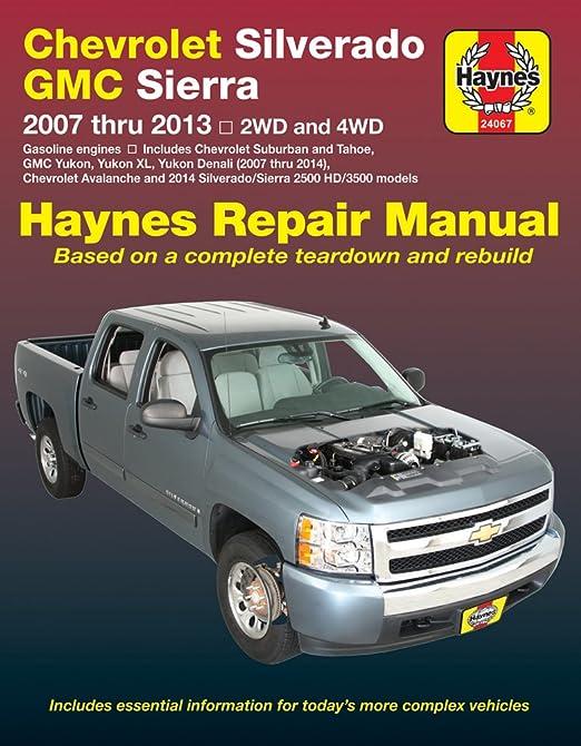 amazon com haynes 24067 chevy silverado gmc sierra repair manual rh amazon com GMC Sierra Manual Sierra Circular Makita Manual