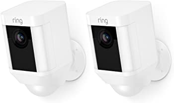 2-Pack Ring Spotlight Battery-Powered Security Camera
