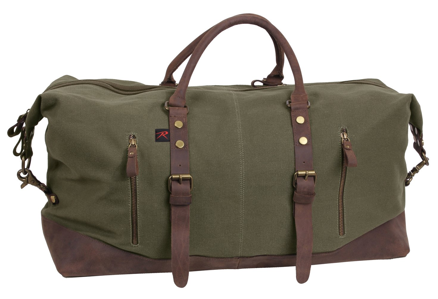 115007337 Amazon.com: Rothco Extended Weekender Bag, Earth Brown: Army Universe