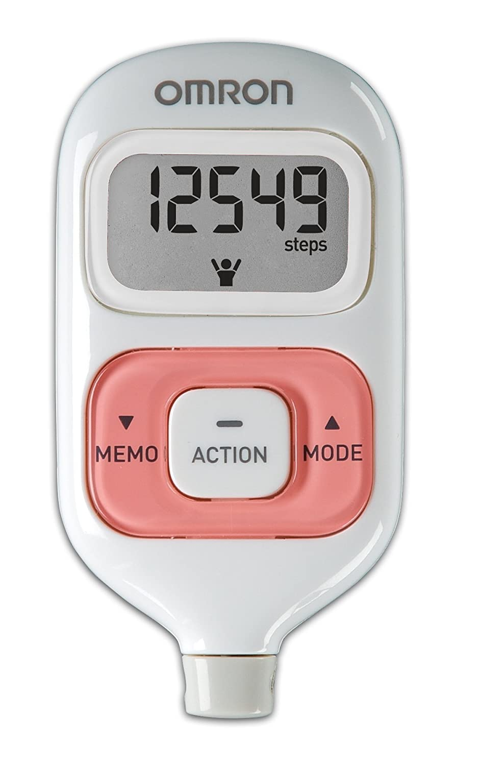 Pedometer Omron - a personal trainer for little money 35