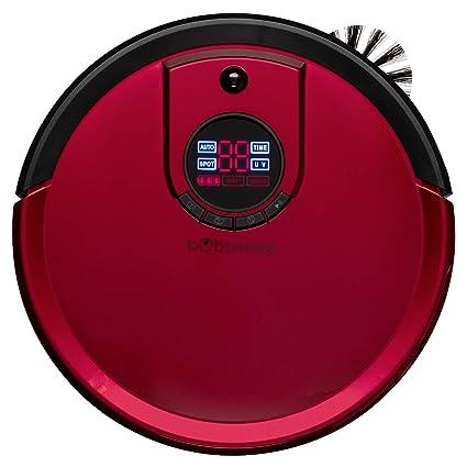 bObsweep estándar Robot Aspirador y fregona, Color Rojo ...