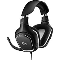 Logitech G332 SE 3.5mm Wired Gaming Headphones (White/Black)