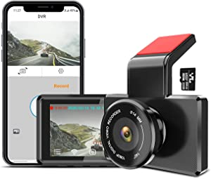 """Dash Cam, 1080P Full HD DVR Dashboard Camera Night Vision Dash Camera 3"""" LCD Screen Wide Angle Car Driving Recorder with WDR, G-Sensor, Parking Monitor, Loop Recording, Motion Detection by iMirror-US"""