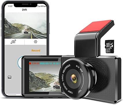 FHD Dash Cam 2.7 Inch Display Loop Recording G-Sensor Parking Monitoring Interesting Electronics