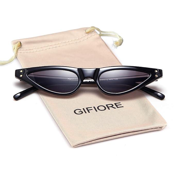 Amazon.com: Gafas de sol estilo retro, estilo gato, para ...