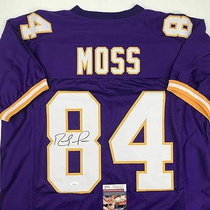 buy cheap ac533 48062 Randy Moss Autographed Jersey - Purple COA - JSA Certified ...