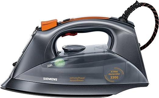 Siemens TS12XTRM - Plancha de vapor, 3300 W, golpe de vapor 200 g ...