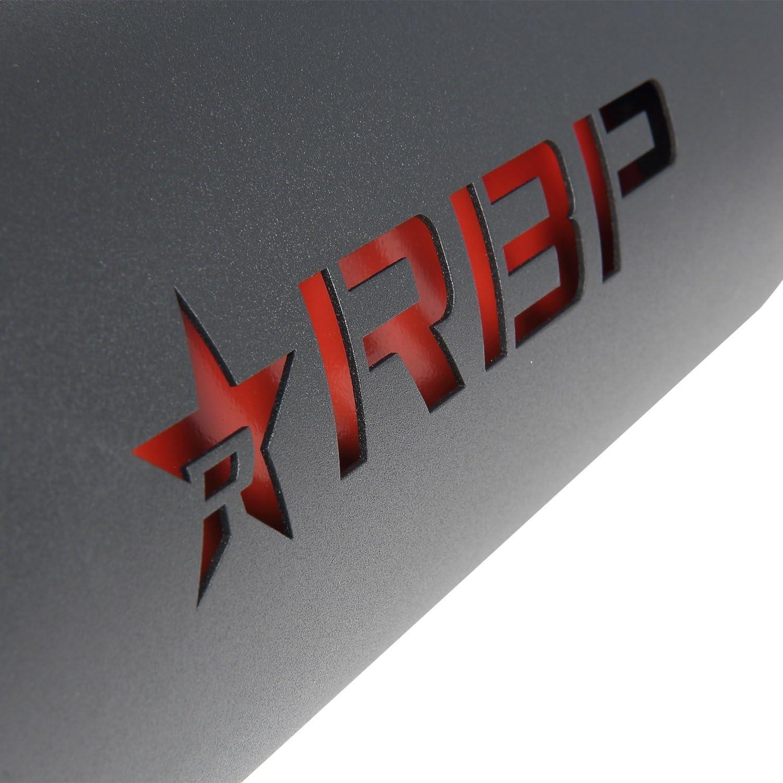 RBP RBP-45005R-7 High Heat Textured Black Powder Coated Exhaust Tip