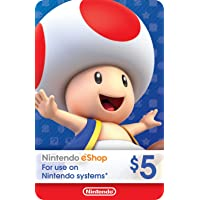 eCash - Nintendo eShop Gift Card $5 - Switch / Wii U / 3DS [Digital Code]