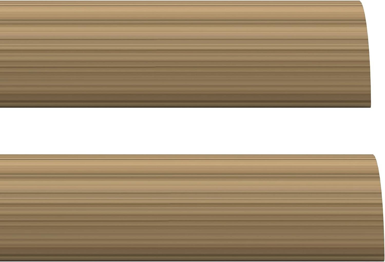 Stormguard 02am0060914lwo de espuma en el interior debajo de la puerta burlete Seal, roble, 914mm, set de 2piezas