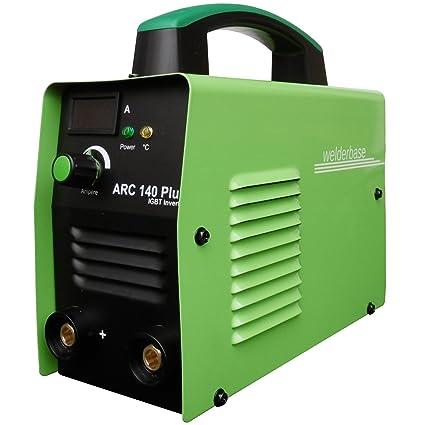 Arc 140 Plus MMA S de mano Soldador inverter tecnología IGBT de Welder Base verde