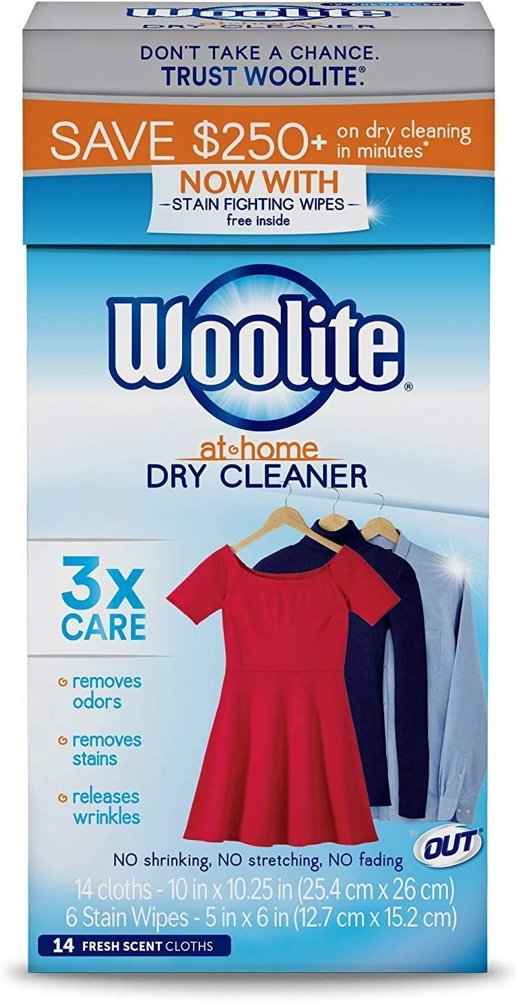 Dry Cleaner's Secret Dry Cleaning Cloths, 14-Count Box - 2 Pack
