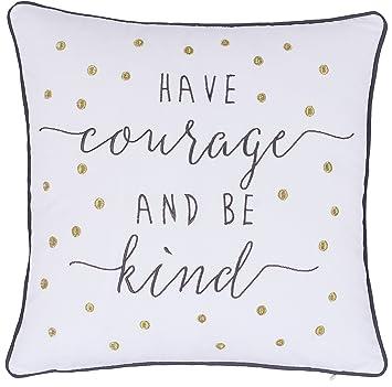 Amazon.com: adecor fundas de almohada tienen el coraje y ser ...