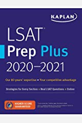 LSAT Prep Plus  2020-2021: Strategies for Every Section + Real LSAT Questions + Online (Kaplan Test Prep) Paperback