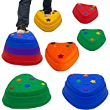 IMAGYM Balance Stepping Stones for Kids Toddler Stepping Stones Perfect Indoor and Outdoor Play Equipment for Kids Toys Obsta